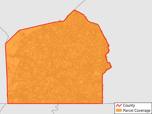 Adams County Pennsylvania GIS Parcel Data Download Coverage