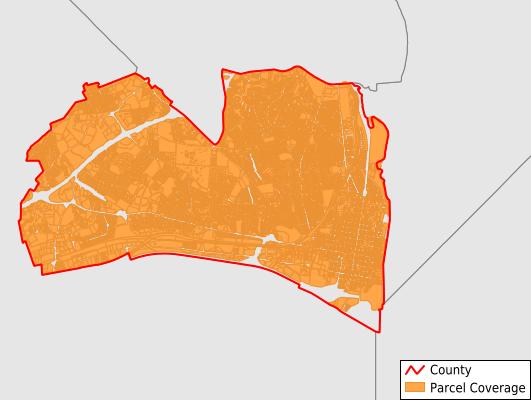 Alexandria City Virginia GIS Parcel Data Download Coverage