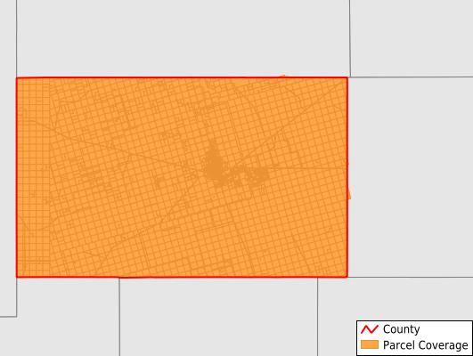 Andrews County Texas GIS Parcel Data Download Coverage