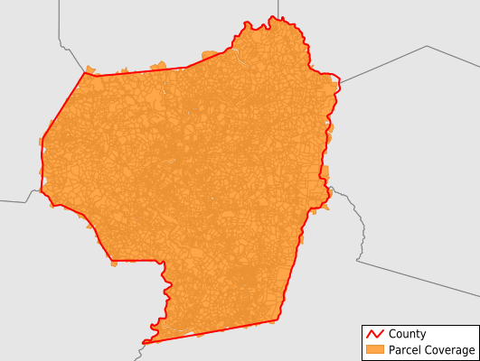 Barbour County West Virginia GIS Parcel Data Download Coverage