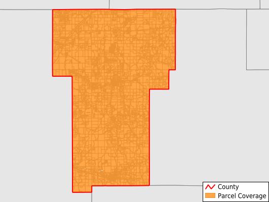 Benton County Mississippi GIS Parcel Data Download Coverage