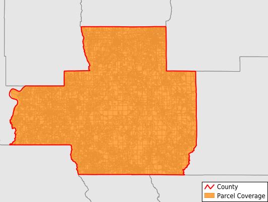 Bienville Parish Louisiana GIS Parcel Data Download Coverage