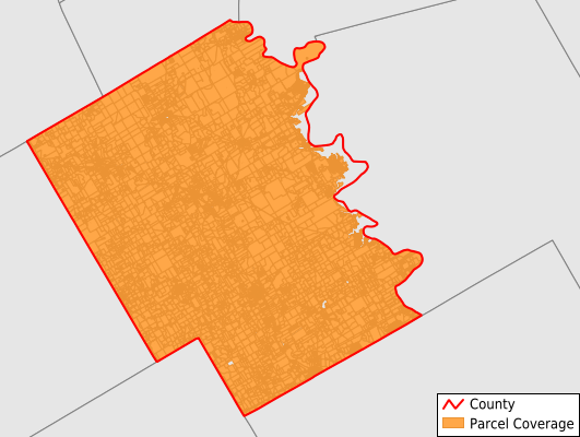 Bosque County Texas GIS Parcel Data Download Coverage