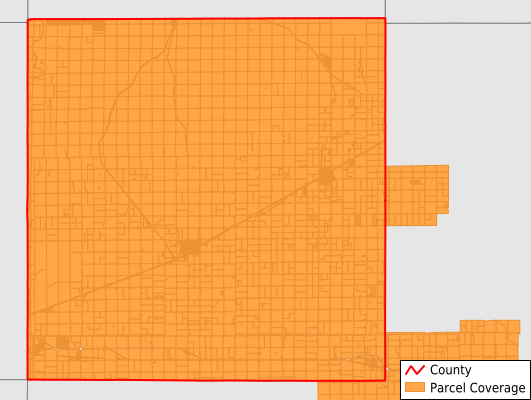 Carson County Texas GIS Parcel Data Download Coverage