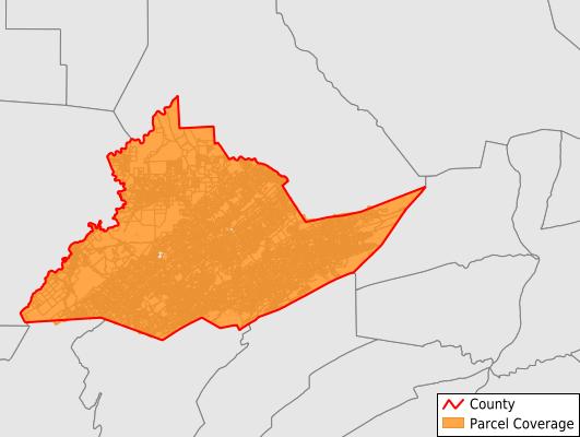 Centre County Pennsylvania GIS Parcel Data Download Coverage