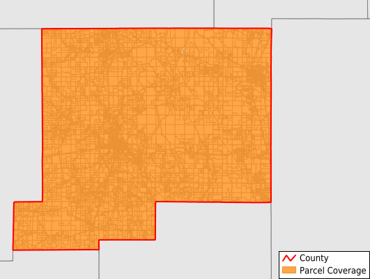 Chickasaw County Mississippi GIS Parcel Data Download Coverage