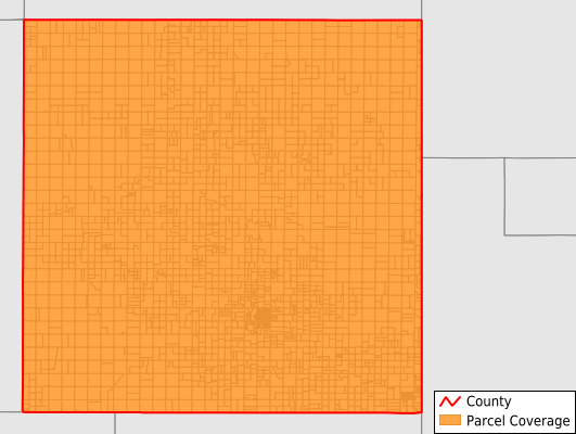 Collingsworth County Texas GIS Parcel Data Download Coverage