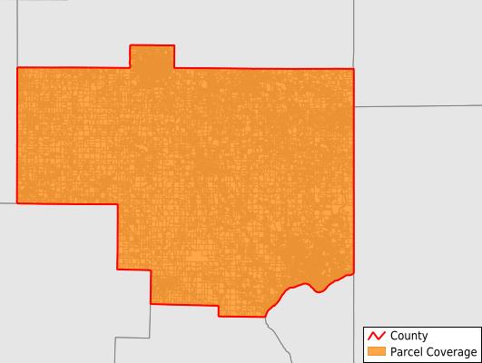 Columbiana County Ohio GIS Parcel Data Download Coverage