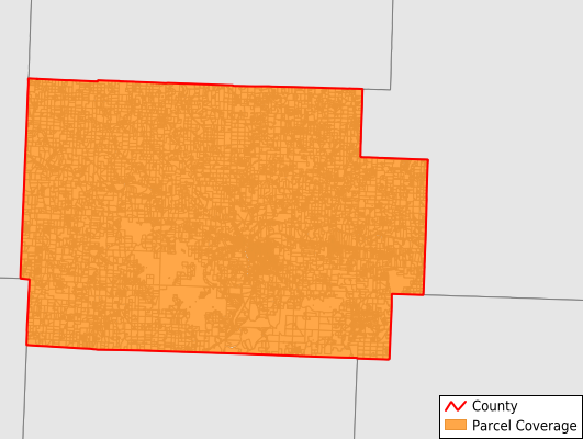 Coshocton County Ohio GIS Parcel Data Download Coverage