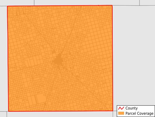 Dawson County Texas GIS Parcel Data Download Coverage