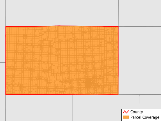 Deaf Smith County Texas GIS Parcel Data Download Coverage