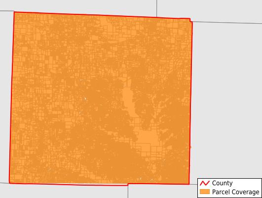 Denton County Texas GIS Parcel Data Download Coverage