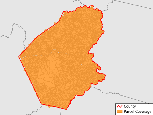 Doddridge County West Virginia GIS Parcel Data Download Coverage