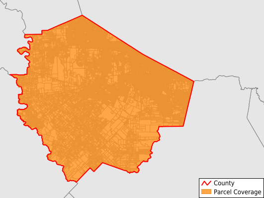 Fort Bend County Texas GIS Parcel Data Download Coverage