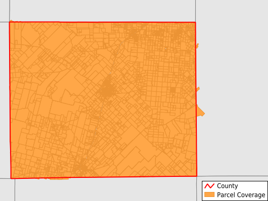 Frio County Texas GIS Parcel Data Download Coverage