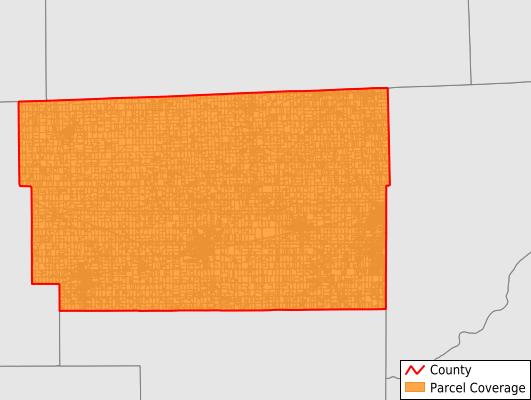Fulton County Ohio GIS Parcel Data Download Coverage