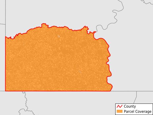 Greene County Pennsylvania GIS Parcel Data Download Coverage