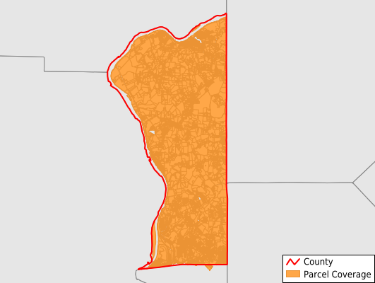 Hancock County West Virginia GIS Parcel Data Download Coverage