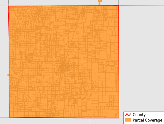 Haskell County Texas GIS Parcel Data Download Coverage
