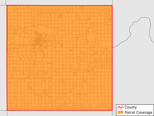 Hemphill County Texas GIS Parcel Data Download Coverage