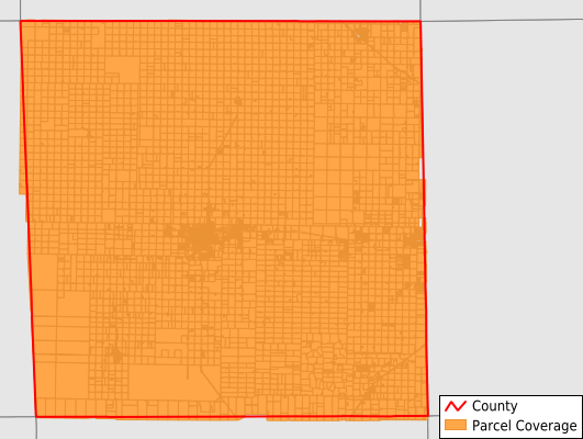 Hockley County Texas GIS Parcel Data Download Coverage