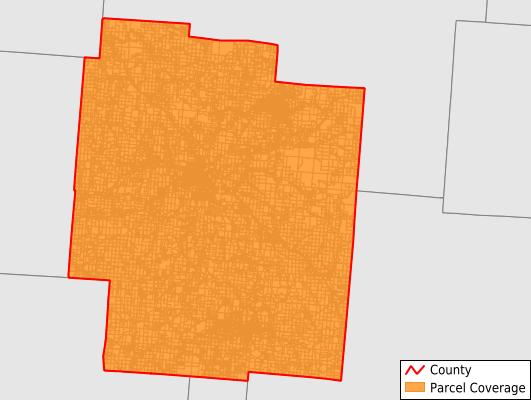 Jackson County Ohio GIS Parcel Data Download Coverage