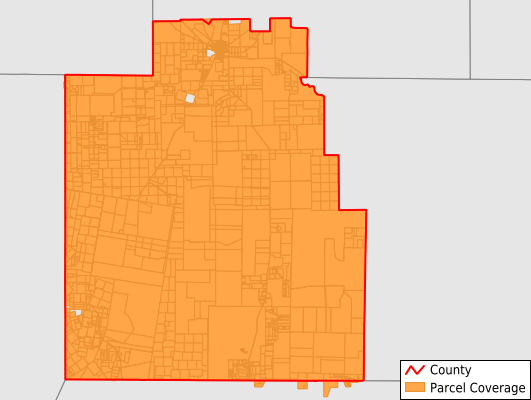 Jim Hogg County Texas GIS Parcel Data Download Coverage