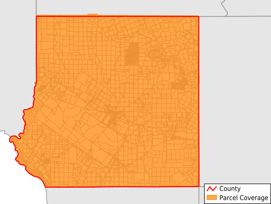 Kinney County Texas GIS Parcel Data Download Coverage