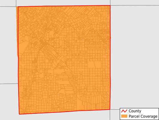 La Salle County Texas GIS Parcel Data Download Coverage