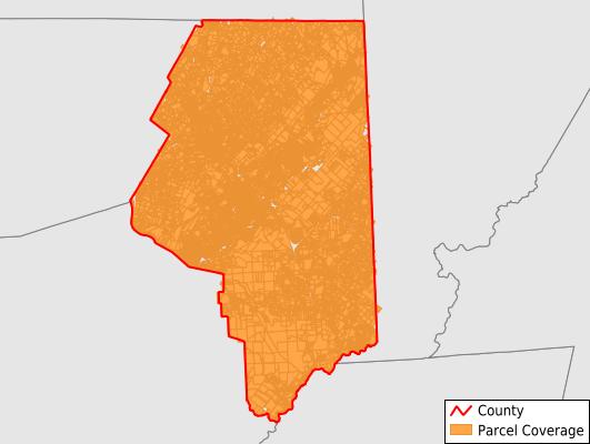 Lackawanna County Pennsylvania GIS Parcel Data Download Coverage