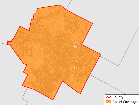 Lamoille County Vermont GIS Parcel Data Download Coverage
