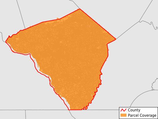 Lancaster County Pennsylvania GIS Parcel Data Download Coverage