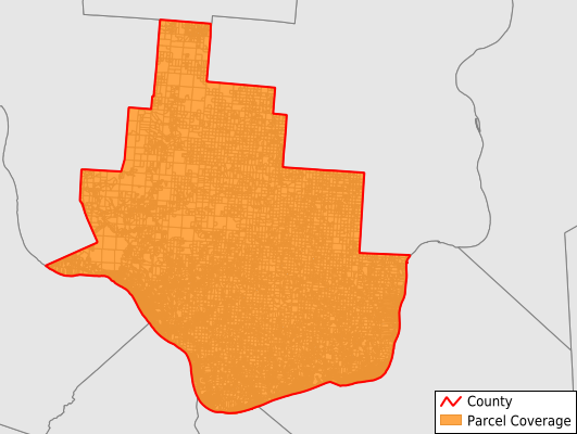 Lawrence County Ohio GIS Parcel Data Download Coverage