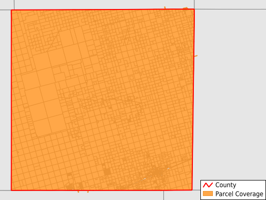 Martin County Texas GIS Parcel Data Download Coverage