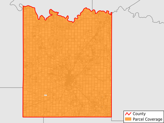 McCulloch County Texas GIS Parcel Data Download Coverage