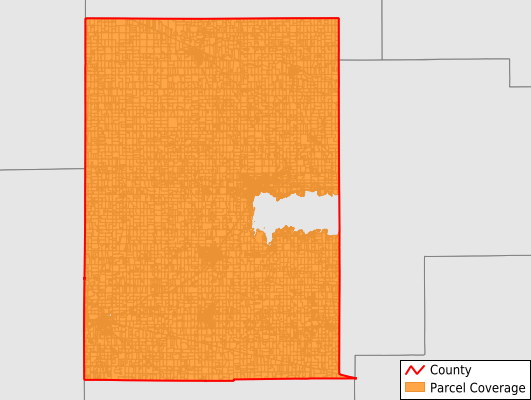 Mercer County Ohio GIS Parcel Data Download Coverage