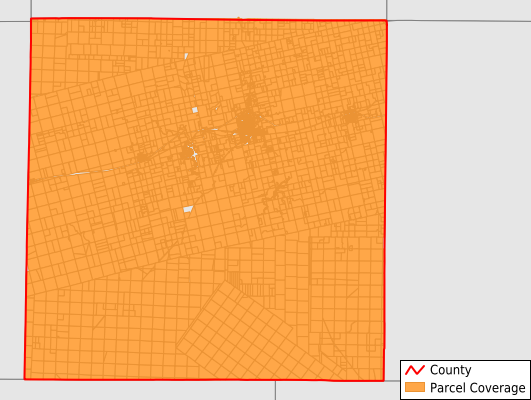 Mitchell County Texas GIS Parcel Data Download Coverage