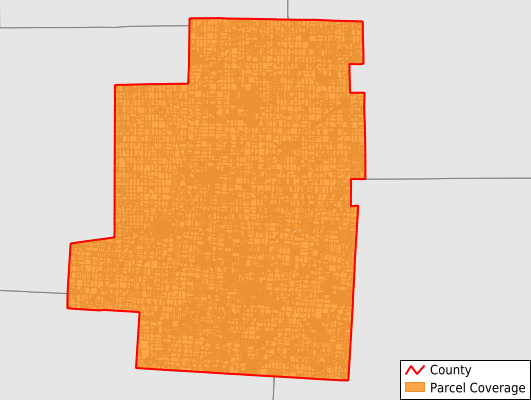 Morrow County Ohio GIS Parcel Data Download Coverage