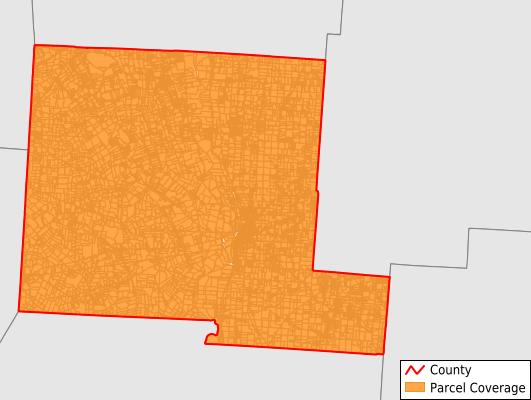 Pickaway County Ohio GIS Parcel Data Download Coverage
