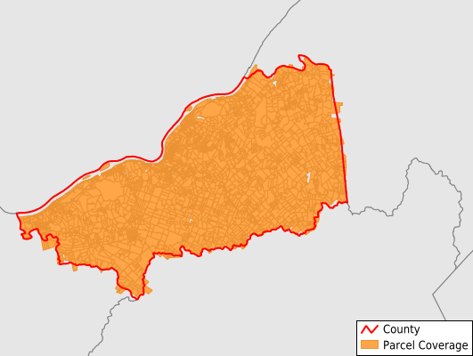 Pleasants County West Virginia GIS Parcel Data Download Coverage