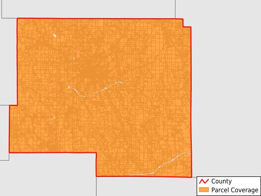 Prentiss County Mississippi GIS Parcel Data Download Coverage