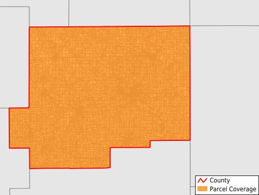 Putnam County Ohio GIS Parcel Data Download Coverage
