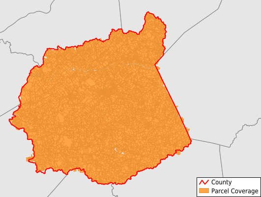 Ritchie County West Virginia GIS Parcel Data Download Coverage
