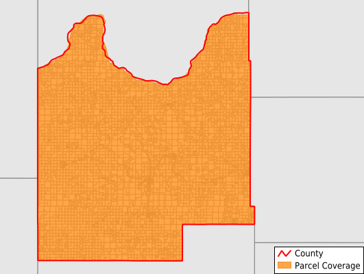 Roger Mills County Oklahoma GIS Parcel Data Download Coverage