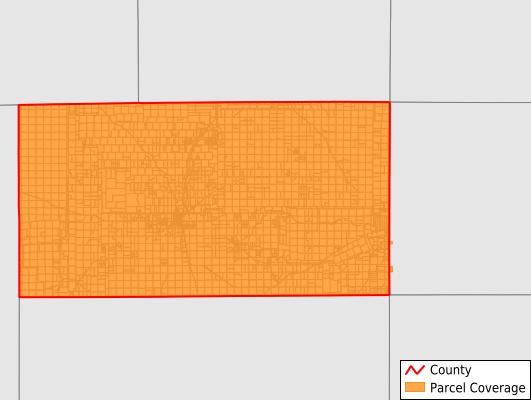 Schleicher County Texas GIS Parcel Data Download Coverage