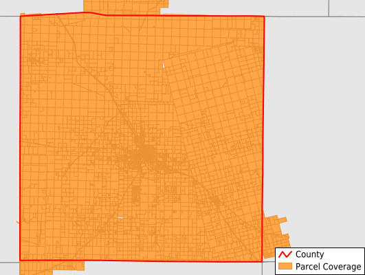 Scurry County Texas GIS Parcel Data Download Coverage