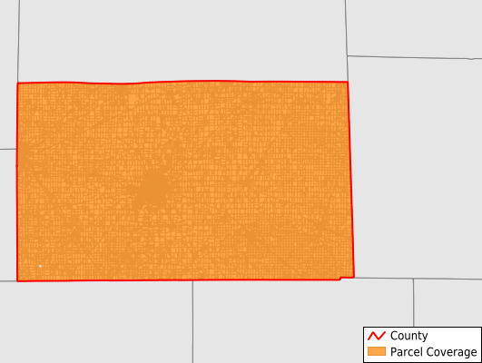 Seneca County Ohio GIS Parcel Data Download Coverage