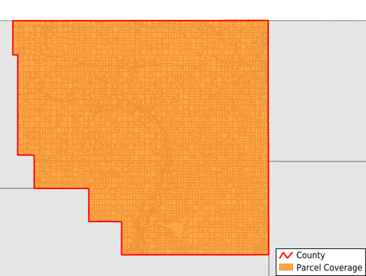 Sheridan County Montana GIS Parcel Data Download Coverage
