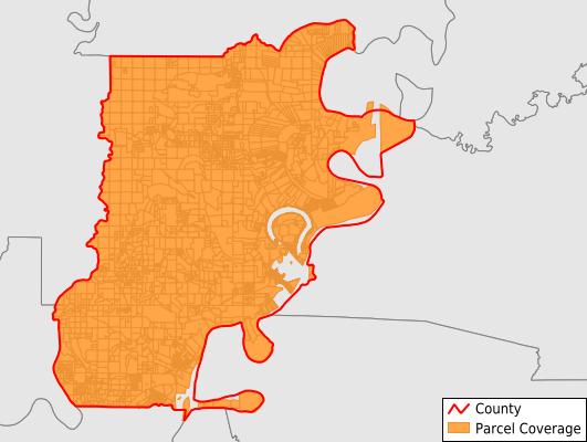 Tensas Parish Louisiana GIS Parcel Data Download Coverage