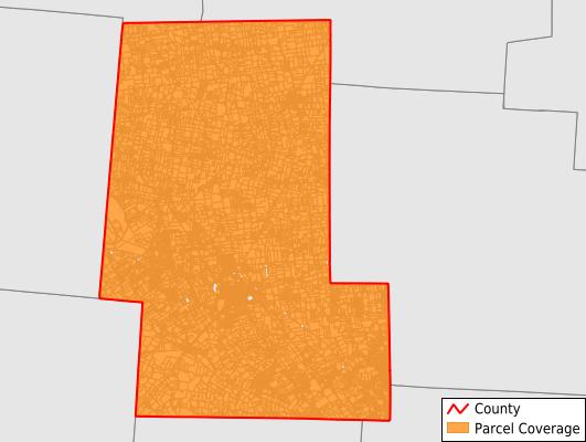 Union County Ohio GIS Parcel Data Download Coverage
